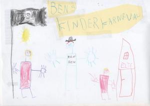 Ben Glasmeyer 5 Jahre Pirat im Elter Kinderkarneval 001